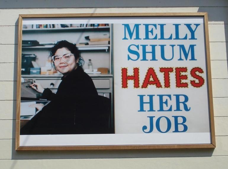 Rotterdam_kunstwerk_Melly_Shum_hates_her_job